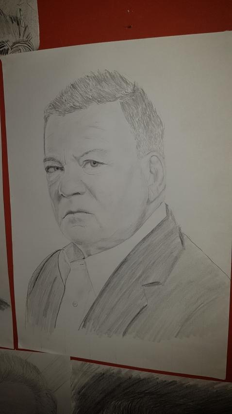 William Shatner by Varoh